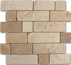 Mosaico Travertino Brick 30,5x30,5