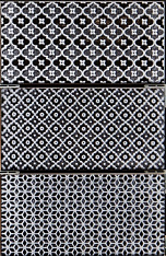 Mirage Decor Jewel Pearl Black 7,5x15