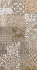 Sakhir Sand Dec Patchwork 60x120