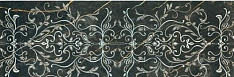 1320 Negro Decor Ornamental  48x128