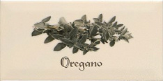 Biselado Decor Oregano Crema 10х20