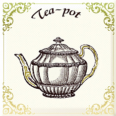 Irish Decor Tea 15х15