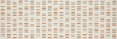 Colourline Decoro Ivory/Taupe/Orange MLEP 22х66,2