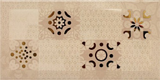 Monocolor Decor Ornamento Beige 10х20